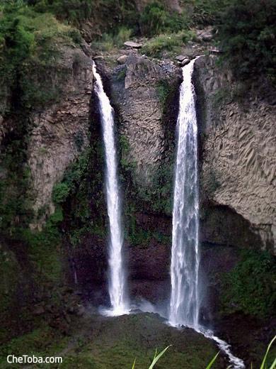 Cascada Pailón del Diablo Baños