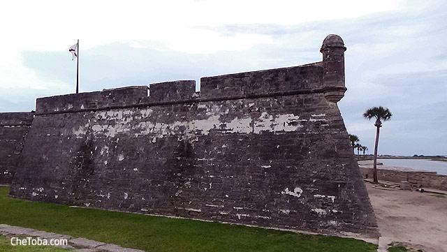 Castillo San Marcos - San Agustín - USA