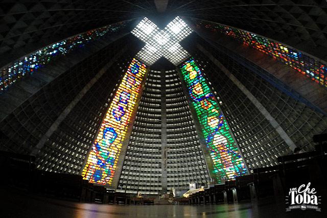 Interior Catedral de Río de Janeiro