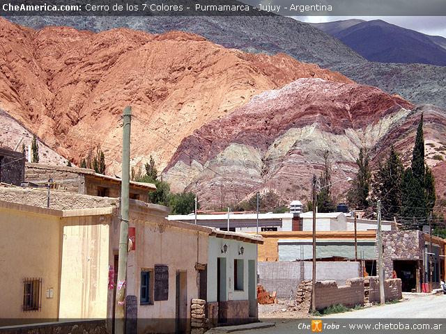 Viajando por el norte Argentino, Purmamarca