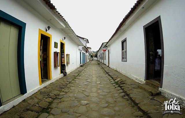 Calles de una ciudad Colonial - Paraty