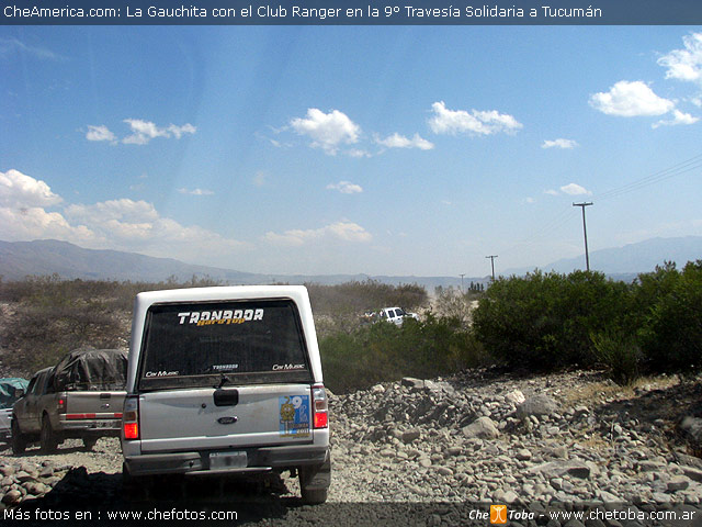 La Guachita en solidaria Club Ranger