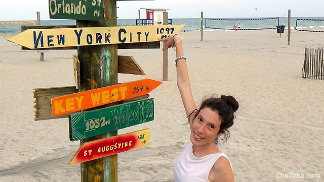 De Cocoa Beach a Nueva York