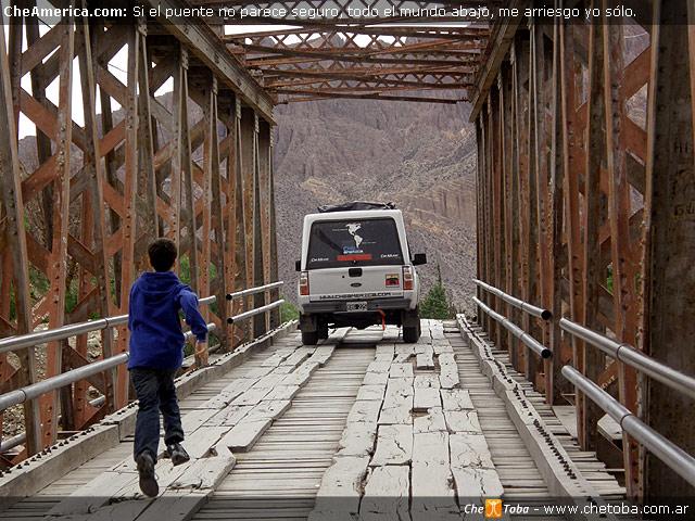 Puente Madera Tilcara
