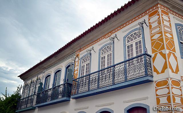 Detalles Balcones Paraty Brasil