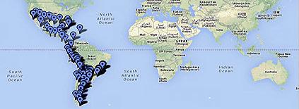 Google Maps - Recorriendo Centroamérica por carretera 1