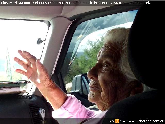 Visitamos a Doña Rosa Caro - La hija de la Pachamama