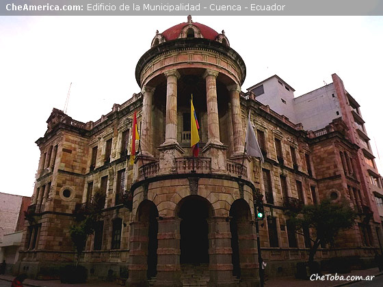 Edificio de la Municipalidad de Cuenca