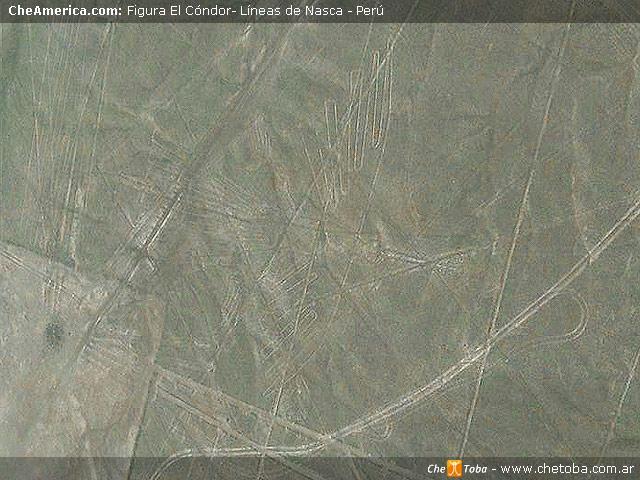 Foto Geoglifo El Cóndor - Líneas de Nazca