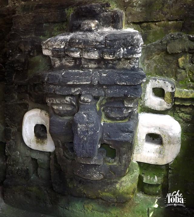 Templo de las máscaras. El Mascarón
