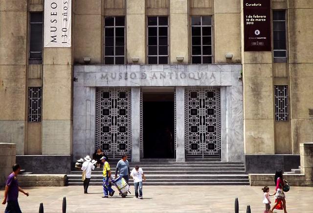 Entrada Museo de Antioquia