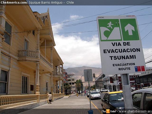 Evacuación de Tsunami en Iquique