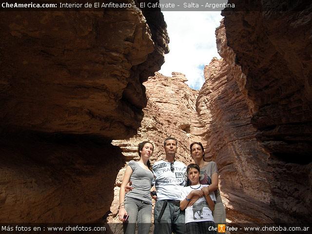 Familia Viajera Argentina - Quebrada Cafayate - Salta