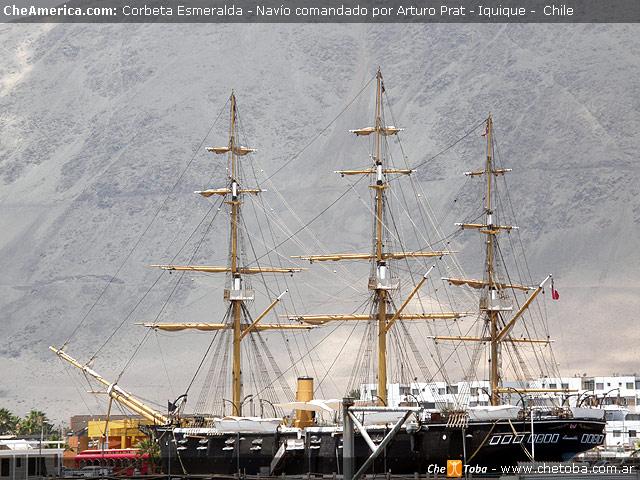 Museo Corbeta Esmeralda - Puerto de Iquique
