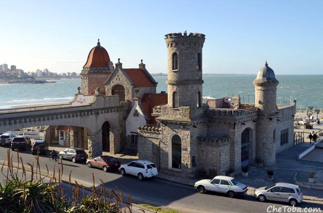 Foto el Torreón del Monje - Mar del Plata