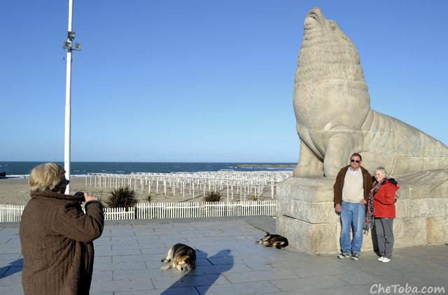 Foto cliché de Mar del Plata