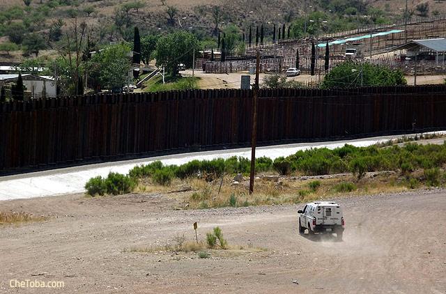 Muro Frontera Mexico EEUU