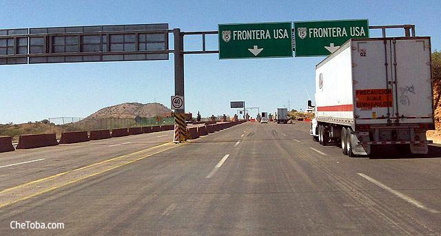 Frontera Nogales MEXICO EEUU