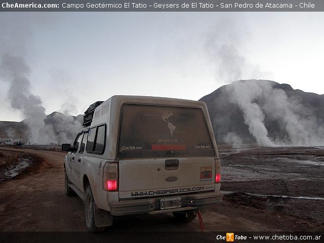 Excursión a los Geysers del Tatio