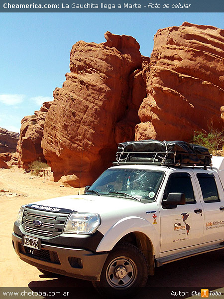 Una Ford Ranger en otro planeta