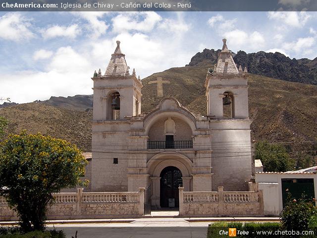 Iglesia de Chivay - Frente a la Plaza