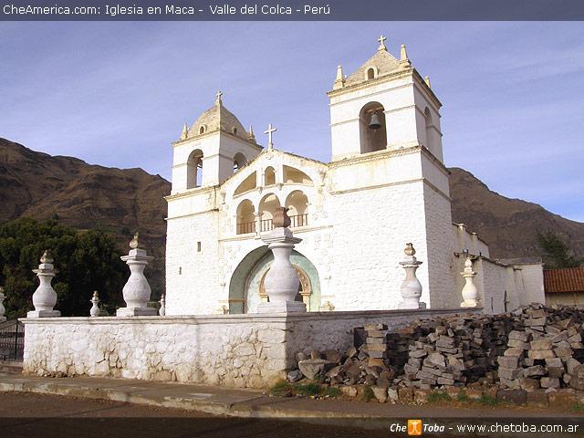 Iglesia de Maca - Valle del Colca