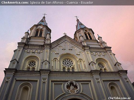 Iglesia San Alfonso Cuenca Ecuador