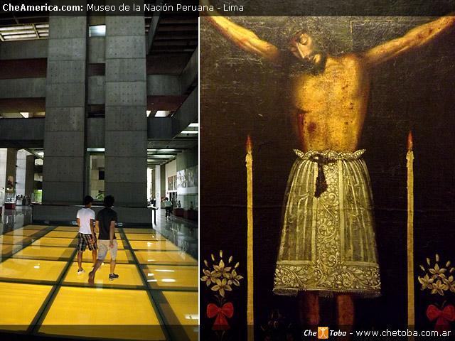 Interior del Museo de la Nación Lima