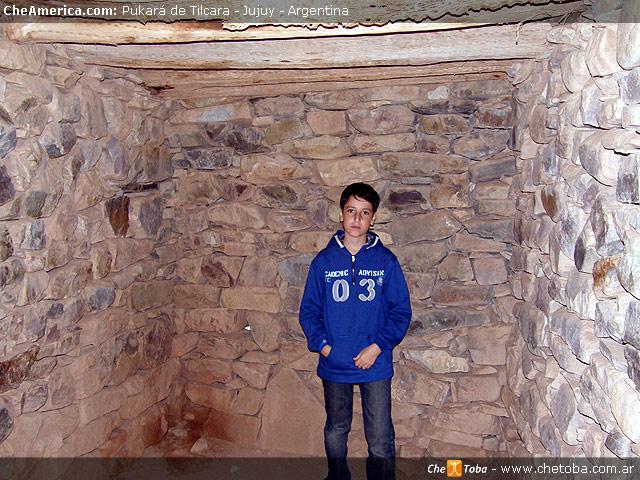 Interior de un Pucará en Tilcara