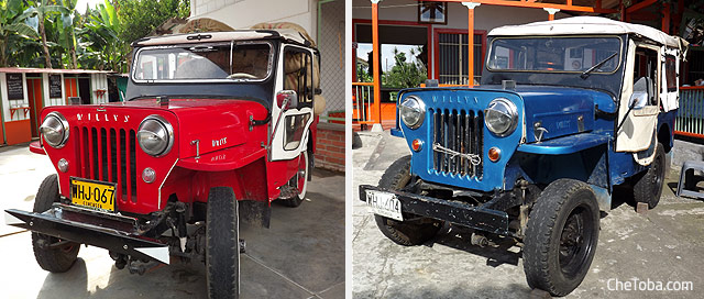 Jeep Willy original restaurado