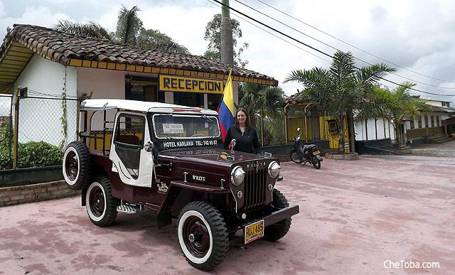 Jeep en el Eje Cafetero