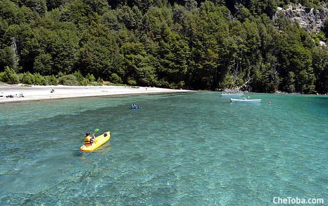 Kayak en la Patagonia