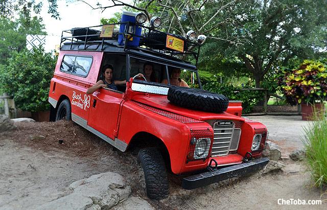 Land Rover adventure