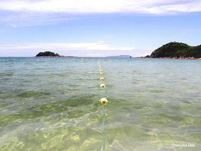 Como es el mar en Celso Ramos