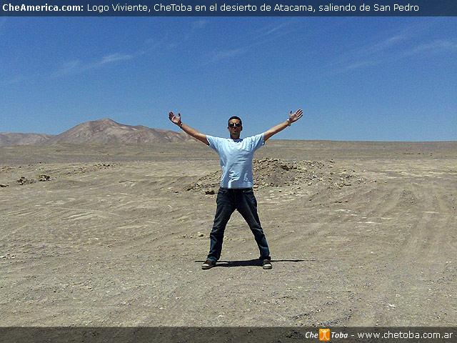 Logo CheToba desierto de Atacama