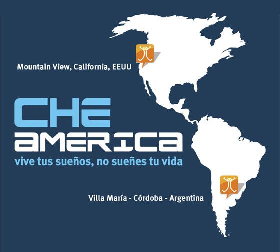 Mapa Viaje Che America