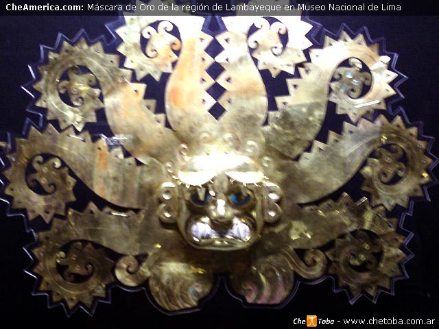 Máscara de Oro Peruana