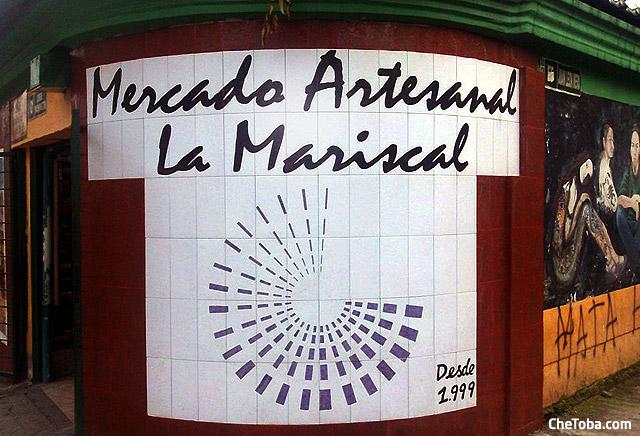 Mercado Artesanal La Mariscal Quito