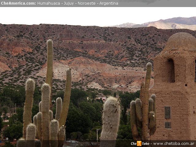 Vista de Humahuaca desde la colina