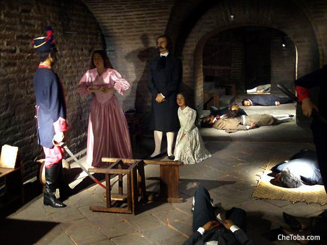 museo de cera en Quito