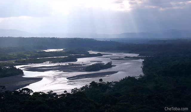 Nacimiento del Río Amazonas