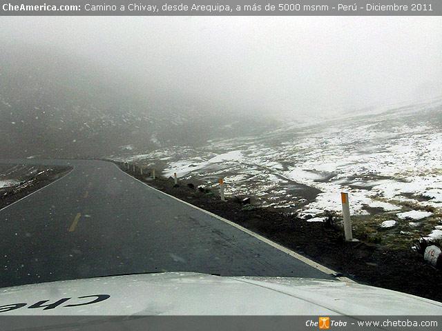 Chivay, la entrada al Cañón del Colca, Perú