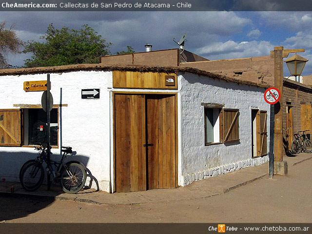 No bicicletas en San Pedro de Atacama