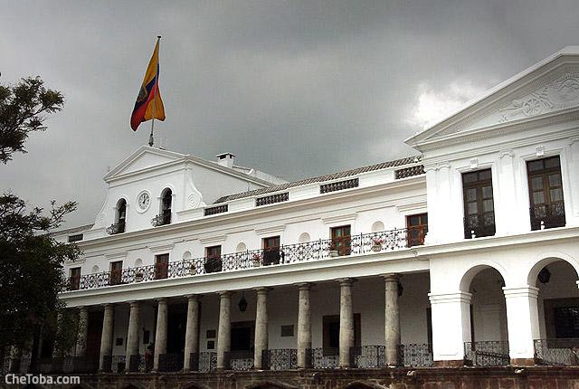 Palacio de Gobierno en Quito