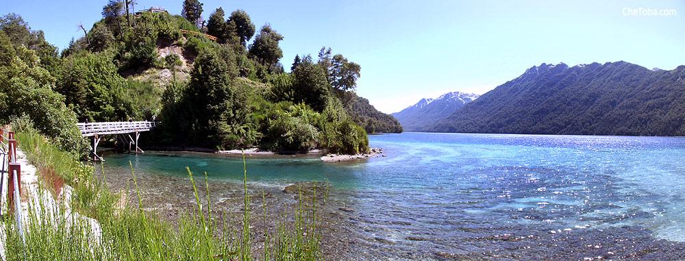 Lago Correntoso Panorámica