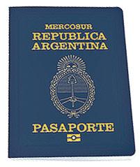 Pasaporte Argentino con Chip