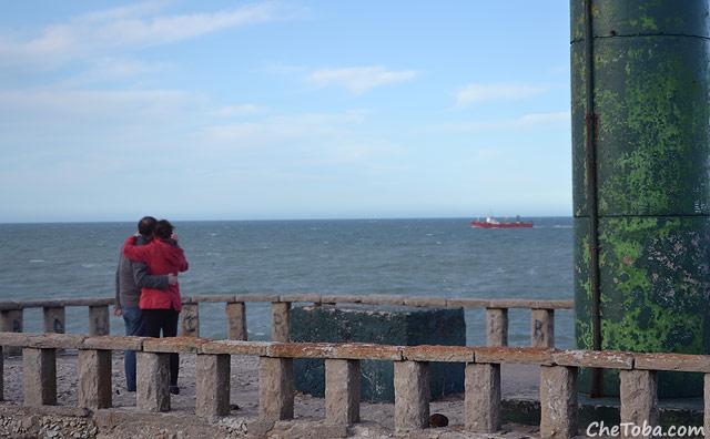 La escollera de estribor - Mar del Plata
