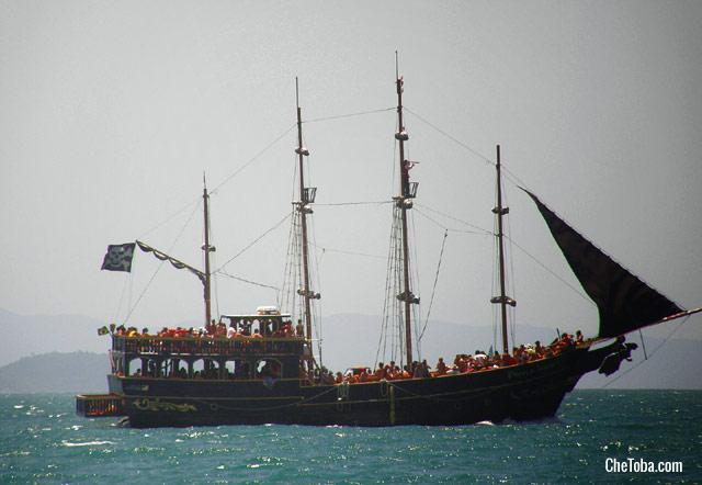 Barco tipo Escuna Florianópolis