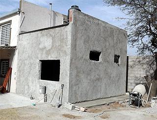revestimiento casa prefabricada