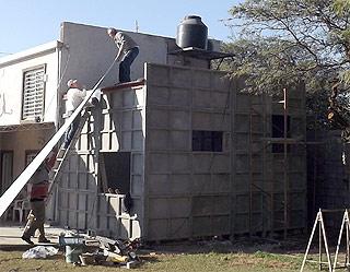 Viviendas prefabricada techado